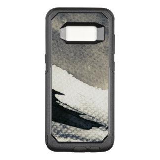 Coque Samsung Galaxy S8 Par OtterBox Commuter Arrière - plan grunge abstrait, texture d'encre. 4