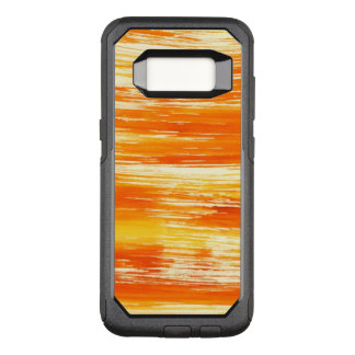 Coque Samsung Galaxy S8 Par OtterBox Commuter Arrière - plan jaune abstrait d'aquarelle