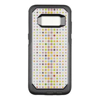 Coque Samsung Galaxy S8 Par OtterBox Commuter Arrière - plan multicolore de point