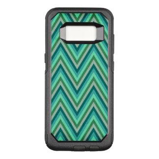 Coque Samsung Galaxy S8 Par OtterBox Commuter Arrière - plan rayé de zigzag