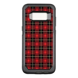 Coque Samsung Galaxy S8 Par OtterBox Commuter Arrière - plan rouge de plaid