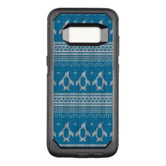 Coque Samsung Galaxy S8 Par OtterBox Commuter Arrière - plan tricoté par bleu