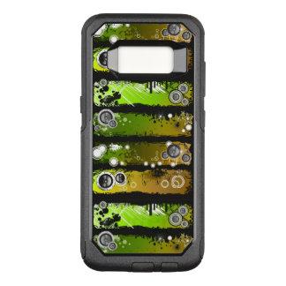 Coque Samsung Galaxy S8 Par OtterBox Commuter Bannière grunge de musique de style