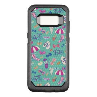 Coque Samsung Galaxy S8 Par OtterBox Commuter Beau motif avec des éléments d'été