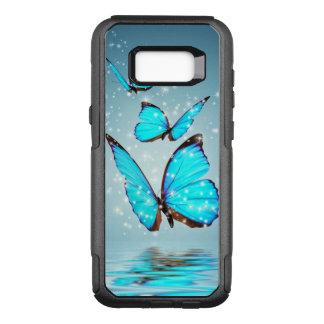 Coque Samsung Galaxy S8+ Par OtterBox Commuter beaux papillons bleus