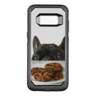 Coque Samsung Galaxy S8 Par OtterBox Commuter Bouledogue français Brindle noir