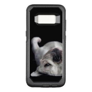 Coque Samsung Galaxy S8 Par OtterBox Commuter Bouledogue français se reposant sur le sien de