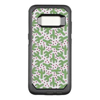 Coque Samsung Galaxy S8 Par OtterBox Commuter Cactus illustré et motif de fleurs rose