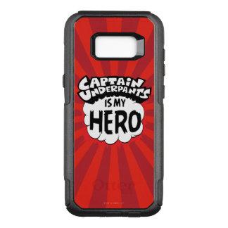Coque Samsung Galaxy S8+ Par OtterBox Commuter Capitaine Underpants   mon héros