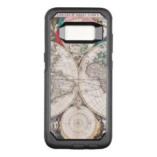 Coque Samsung Galaxy S8 Par OtterBox Commuter Carte antique du monde de Double-Hémisphère