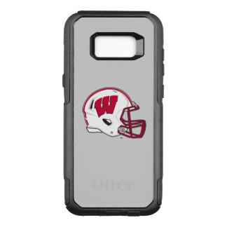 Coque Samsung Galaxy S8+ Par OtterBox Commuter Casque de football du Wisconsin  