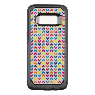 Coque Samsung Galaxy S8 Par OtterBox Commuter Chevron aztèque coloré