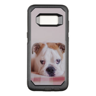 Coque Samsung Galaxy S8 Par OtterBox Commuter Chiot anglais timide de bouledogue