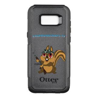 Coque Samsung Galaxy S8+ Par OtterBox Commuter ChipmunkCraft Otterbox fait sur commande S8