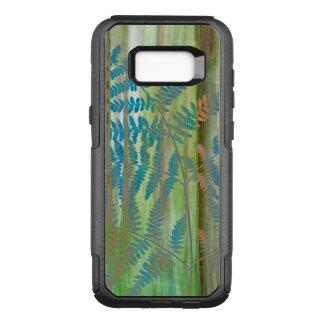 Coque Samsung Galaxy S8+ Par OtterBox Commuter Collage des fougères et de la forêt | Seabeck, WA