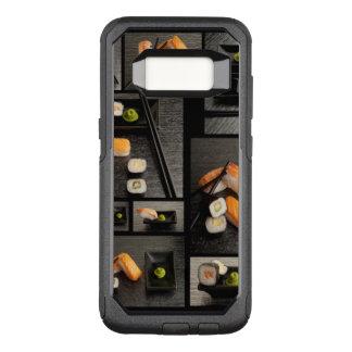 Coque Samsung Galaxy S8 Par OtterBox Commuter Collection de sushi sur l'arrière - plan noir