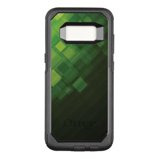Coque Samsung Galaxy S8 Par OtterBox Commuter Conception abstraite verte de technologie