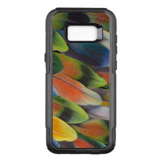 Coque Samsung Galaxy S8+ Par OtterBox Commuter Conception colorée de plume de perruche