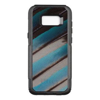 Coque Samsung Galaxy S8+ Par OtterBox Commuter Conception de plume de rouleau Bleu-Gonflée par