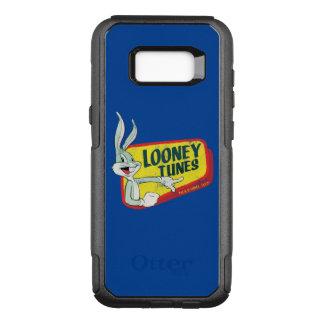 Coque Samsung Galaxy S8+ Par OtterBox Commuter Correction LOONEY du ™ TUNES™ de BUGS BUNNY rétro