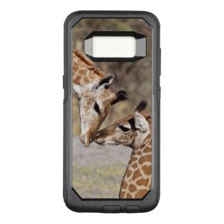 Coque Samsung Galaxy S8 Par OtterBox Commuter Deux jeunes girafes