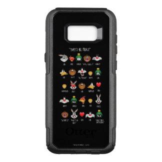 Coque Samsung Galaxy S8+ Par OtterBox Commuter Diagramme LOONEY de TUNES™ Emoji