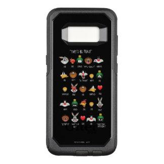 Coque Samsung Galaxy S8 Par OtterBox Commuter Diagramme LOONEY de TUNES™ Emoji