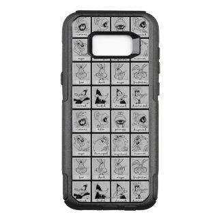 Coque Samsung Galaxy S8+ Par OtterBox Commuter Diagramme LOONEY d'émotion de caractère de TUNES™