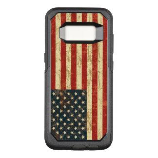 Coque Samsung Galaxy S8 Par OtterBox Commuter Drapeau américain sale Etats-Unis