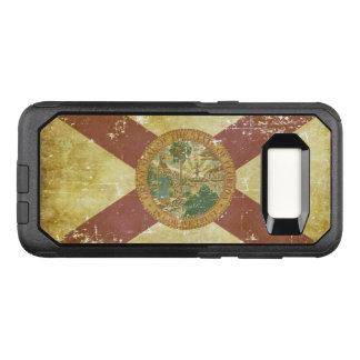 Coque Samsung Galaxy S8 Par OtterBox Commuter Drapeau patriotique de papier usé d'état de la