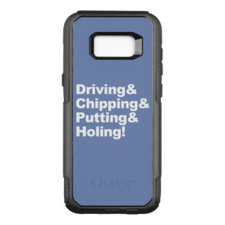 Coque Samsung Galaxy S8+ Par OtterBox Commuter Driving&Chipping&Putting&Holing (blanc)