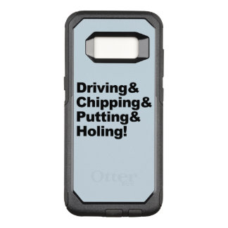 Coque Samsung Galaxy S8 Par OtterBox Commuter Driving&Chipping&Putting&Holing (noir)