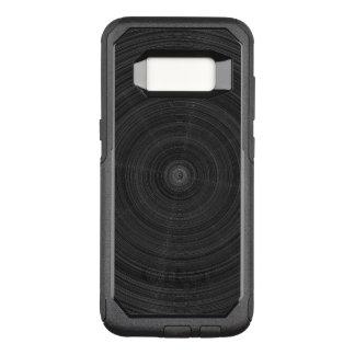 Coque Samsung Galaxy S8 Par OtterBox Commuter Éclat en acier de cercle noir mat