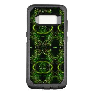 Coque Samsung Galaxy S8 Par OtterBox Commuter En filigrane floral abstrait enlacé par vert