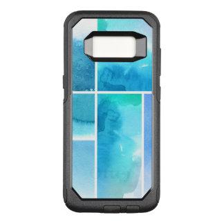 Coque Samsung Galaxy S8 Par OtterBox Commuter Ensemble de l'abrégé sur 2 peints à la main