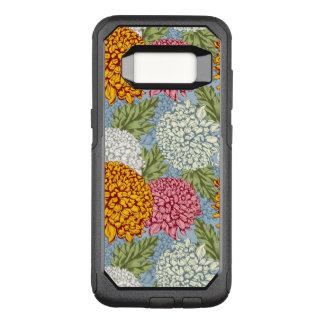 Coque Samsung Galaxy S8 Par OtterBox Commuter Excellent motif avec des chrysanthèmes