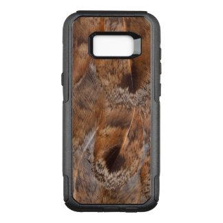 Coque Samsung Galaxy S8+ Par OtterBox Commuter Fermez-vous des plumes de Brown