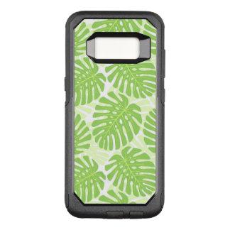 Coque Samsung Galaxy S8 Par OtterBox Commuter Feuille de plante tropicale - motif de Monstera