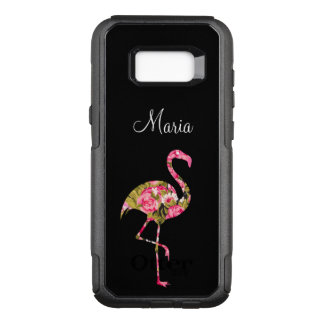Coque Samsung Galaxy S8+ Par OtterBox Commuter Flamant tropical de dames