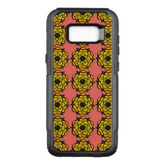 Coque Samsung Galaxy S8+ Par OtterBox Commuter Fleur jaune dans la répétition