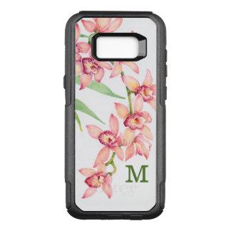 Coque Samsung Galaxy S8+ Par OtterBox Commuter Fleurs roses d'aquarelle