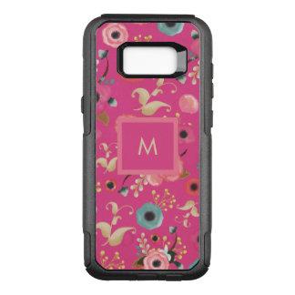 Coque Samsung Galaxy S8+ Par OtterBox Commuter Floral | moderne vibrant dans le rose avec le