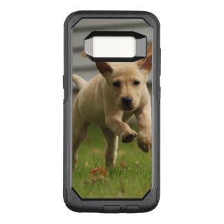 Coque Samsung Galaxy S8 Par OtterBox Commuter Fonctionnement jaune de chiots de Labrador