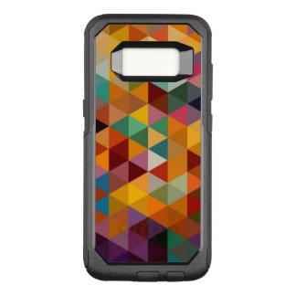 Coque Samsung Galaxy S8 Par OtterBox Commuter Fond vintage de motif de triangles