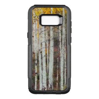 Coque Samsung Galaxy S8+ Par OtterBox Commuter Forêt brumeuse de bouleau