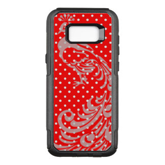 COQUE SAMSUNG GALAXY S8+ PAR OtterBox COMMUTER FRANÇAIS-ROUGE-PAON-POLKA-POINT-APPLE-SAMSUNG