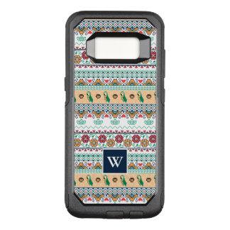 Coque Samsung Galaxy S8 Par OtterBox Commuter Frida Kahlo | Patrón de Colores