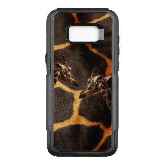 Coque Samsung Galaxy S8+ Par OtterBox Commuter Girafes sur l'arrière - plan exotique de girafe,