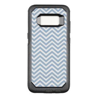 Coque Samsung Galaxy S8 Par OtterBox Commuter Grunge bleu-clair Chevron texturisé