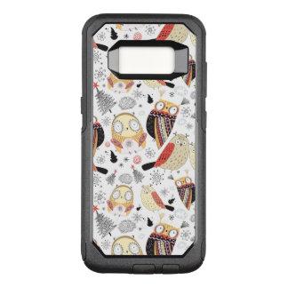 Coque Samsung Galaxy S8 Par OtterBox Commuter Hibou drôle de texture